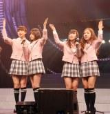 今年の桜ソング「桜の木になろう」を歌うAKB48 (C)ORICON DD inc.
