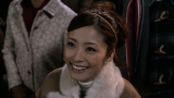 【CMカット】クリスマスの夜に流星群をみてほほ笑むアヤ(ソフトバンク白戸家CM『宇宙』シリーズ「宇宙のサンタ」篇より)