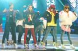 2NE1(左からミンジ、ダラ、ボム、シーエル) (C)ORICON DD inc.