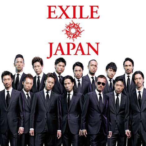 EXILEニューアルバム『EXILE JAPAN』(2012年1月1日発売)ジャケット
