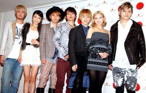 『第62回NHK紅白歌合戦』のリハーサルに臨んだ、AAA