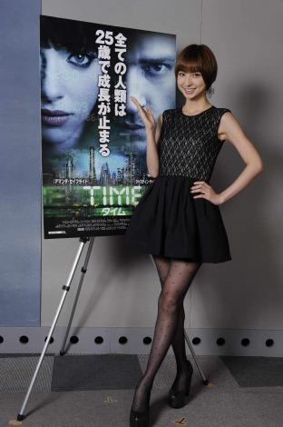 映画『TIME/タイム』日本語吹替え初挑戦したAKB48の篠田麻里子