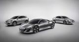 北米国際自動車ショー(米国ミシガン州デトロイト)で初お披露目された『Acura』の新型3モデル