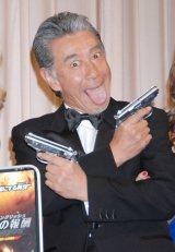 映画『ジョニー・イングリッシュ 気休めの報酬』の公開記念イベントに出席した高田純次 (C)ORICON DD inc.