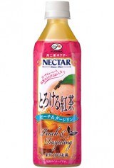 不二家が2月6日に発売する、ブランド初の紅茶飲料『ネクターとろける紅茶ピーチ&ダージリン』