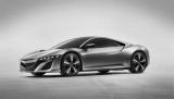 2012年北米国際自動車ショー(米国ミシガン州デトロイト)にて発表されたホンダ『NSXコンセプト』