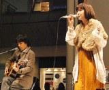 3rdアルバム『No Night Land』の発売記念イベントを行なったmoumoon (C)ORICON DD inc.