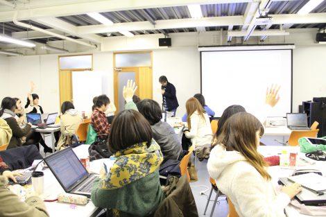 東北芸術工科大学での授業風景