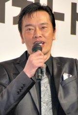 アクションゲーム『バイナリー ドメイン』発表記者会見に出席した遠藤憲一 (C)ORICON DD inc.