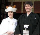 2007年に挙式した寺島しのぶ&ローラン・グナシア氏 (C)ORICON DD inc.