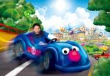 3月16日にオープンするUSJの「ユニバーサル・ワンダーランド」、セサミストリート・プラザのライド・アトラクション(子どものみ対象)「セサミのビッグ・ドライブ」イメージ図
