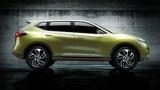 第82回ジュネーブ国際モーターショーにて公開された日産自動車のコンセプトカー「ハイクロスコンセプト」