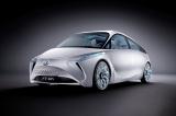 第82回ジュネーブ国際モーターショーにて公開された、トヨタの次世代スモールハイブリッドコンセプトカー「FT-Bh」