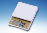 タニタから発売される、白米のカロリーを計測できるデジタルクッキングスケール『KD-195』(4月1日発売) (C)ORICON DD inc.