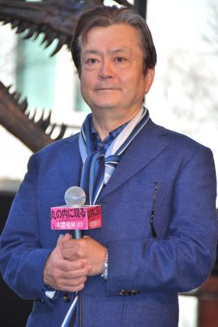 『大恐竜展 in 丸の内 2012』オープニングイベントに出席した大和田伸也 (C)ORICON DD inc.