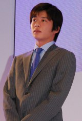 『日本生命みらい創造プロジェクト』新CM発表会に出席した池松壮亮 (C)ORICON DD inc.