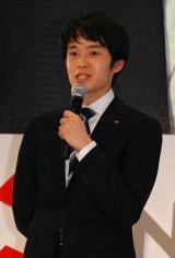 『日本生命みらい創造プロジェクト』新CM発表会に出席した田中圭 (C)ORICON DD inc.