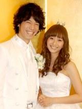 2009年11月に結婚披露宴を行った庄司智春と藤本美貴 (C)ORICON DD inc.