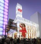 2013年春、大阪・心斎橋にオープンする『H&M SHINSAIBASHI』イメージ