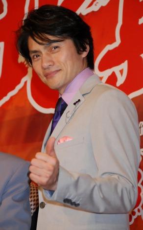明治座『北島三郎特別公演』制作発表に出席した松村雄基