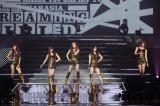 横浜アリーナで初の単独日本ツアー『KARASIA』の初日公演を行ったKARAの5人
