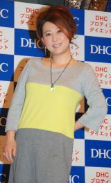 DHC『プロテインダイエット』のイメージキャラクターに再起用された友近 (C)ORICON DD inc.