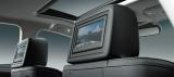 ヘッドレスト一体型高精細7インチワイドVGAディスプレイ(「CIMA HYBRID VIP G」には標準装備、「CIMA HYBRID」はメーカーオプションとなる)