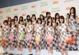 AKB48の公式ライバル「乃木坂46」は2位に登場 (C)ORICON DD inc.