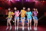 初のホールワンマンライブを行った9nine(左から)村田寛奈、吉井香奈恵、西脇彩華、川島海荷、佐武宇綺