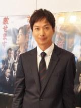 5月19日放送のドラマスペシャル『灰色の虹』に主演する椎名桔平(C)テレビ朝日