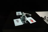 東京スカイツリータウンの「千葉工業大学 東京スカイツリー タウンキャンパス」に展示されている「魔法のカード ON THE FLY PAPER」