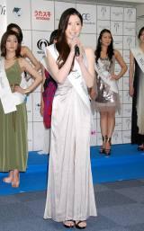 『2012ミス・アース』の日本代表ファイナリストに選ばれた大杉麗美さん (C)ORICON DD inc.