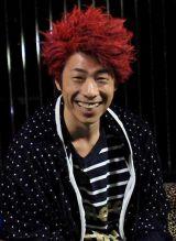 かつてトレードマークだった赤髪を約10年ぶりに披露したロンブー淳 (C)ORICON DD inc.
