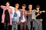 MYNAMEの(左から)コヌ、チェジン、セヨン、インス、ジュンQ (C)ORICON DD inc.