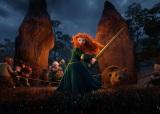 ピクサー史上初の女性主人公・メリダ (C) Disney/Pixar.All Rights Reserves.