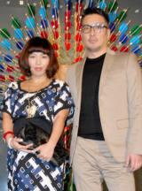 第3子妊娠7ヶ月時のMINMIと湘南乃風・若旦那夫妻 (C)ORICON DD inc
