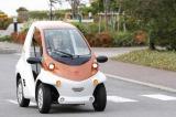きょう発売されたトヨタ車体の1人乗りの超小型電気車『コムス』