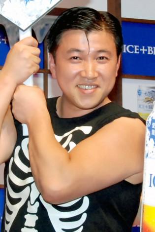 『キリン アイスプラスビール』の新商品発表会に出席したスギちゃん (C)ORICON DD inc.