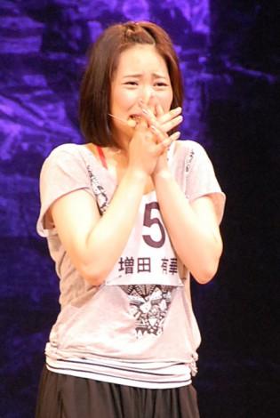 「AKB48プロジェクト全国オーディション」の最終選考に参加し、見事主演のドロシー役に決定した増田有華 (C)ORICON DD inc.