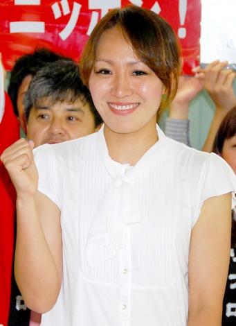 サッカー日本女子・なでしこジャパンのロンドン五輪代表に選出された丸山桂里奈選手 (C)ORICON DD inc.