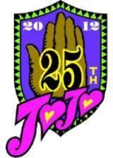 『ジョジョの奇妙な冒険』連載25周年記念ロゴ