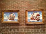USJできょう7日からスタートするイベント『ワンピース・プレミア・サマー』、昨年好評だった「サンジの海賊レストラン」店内には歴代の海賊船が… (C)ORICON DD inc.