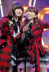 """新機種『ぱちんこAKB48』プレス発表会に出席したAKB48の""""チームサプライズ""""によるライブの模様 (C)ORICON DD inc."""