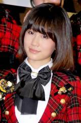 新機種『ぱちんこAKB48』プレス発表会に出席したAKB48の前田敦子 (C)ORICON DD inc.