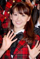 新機種『ぱちんこAKB48』プレス発表会に出席したAKB48の大島優子 (C)ORICON DD inc.