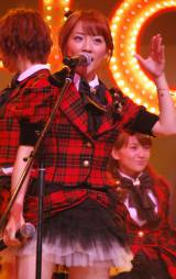 新機種『ぱちんこAKB48』プレス発表会に出席したAKB48の高橋みなみ (C)ORICON DD inc.