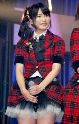 新機種『ぱちんこAKB48』プレス発表会に出席したAKB48の横山由依 (C)ORICON DD inc.