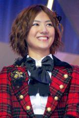 新機種『ぱちんこAKB48』プレス発表会に出席したAKB48の宮澤佐江 (C)ORICON DD inc.