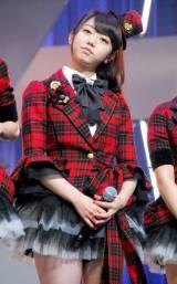 新機種『ぱちんこAKB48』プレス発表会に出席したAKB48の峯岸みなみ (C)ORICON DD inc.