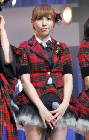 新機種『ぱちんこAKB48』プレス発表会に出席したAKB48の河西智美 (C)ORICON DD inc.